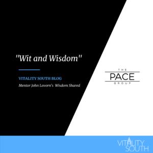 Mentor's Wisdom Shared