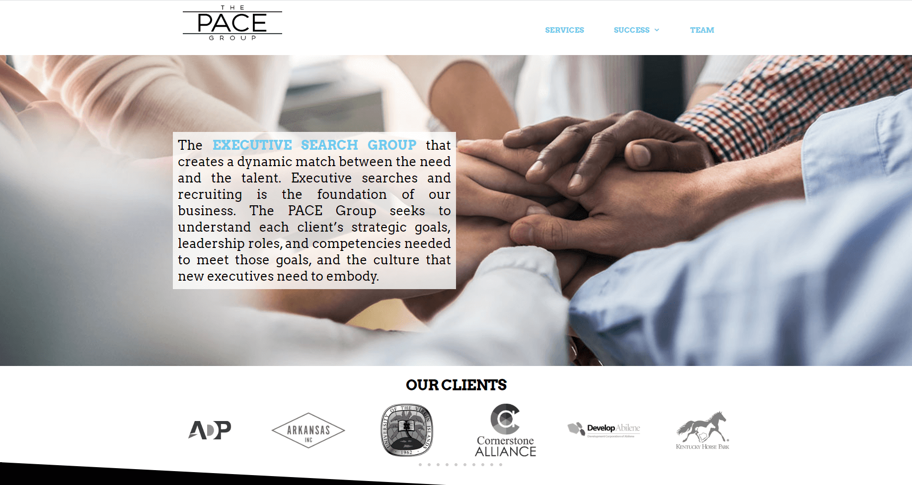 Executive Job Search Website - Tupelo, MS, The PACE Group