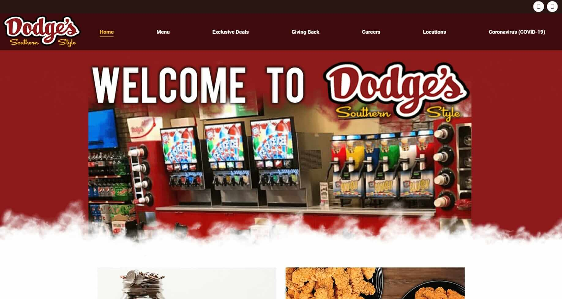 Website and Marketing for convenience stores - Dodge's