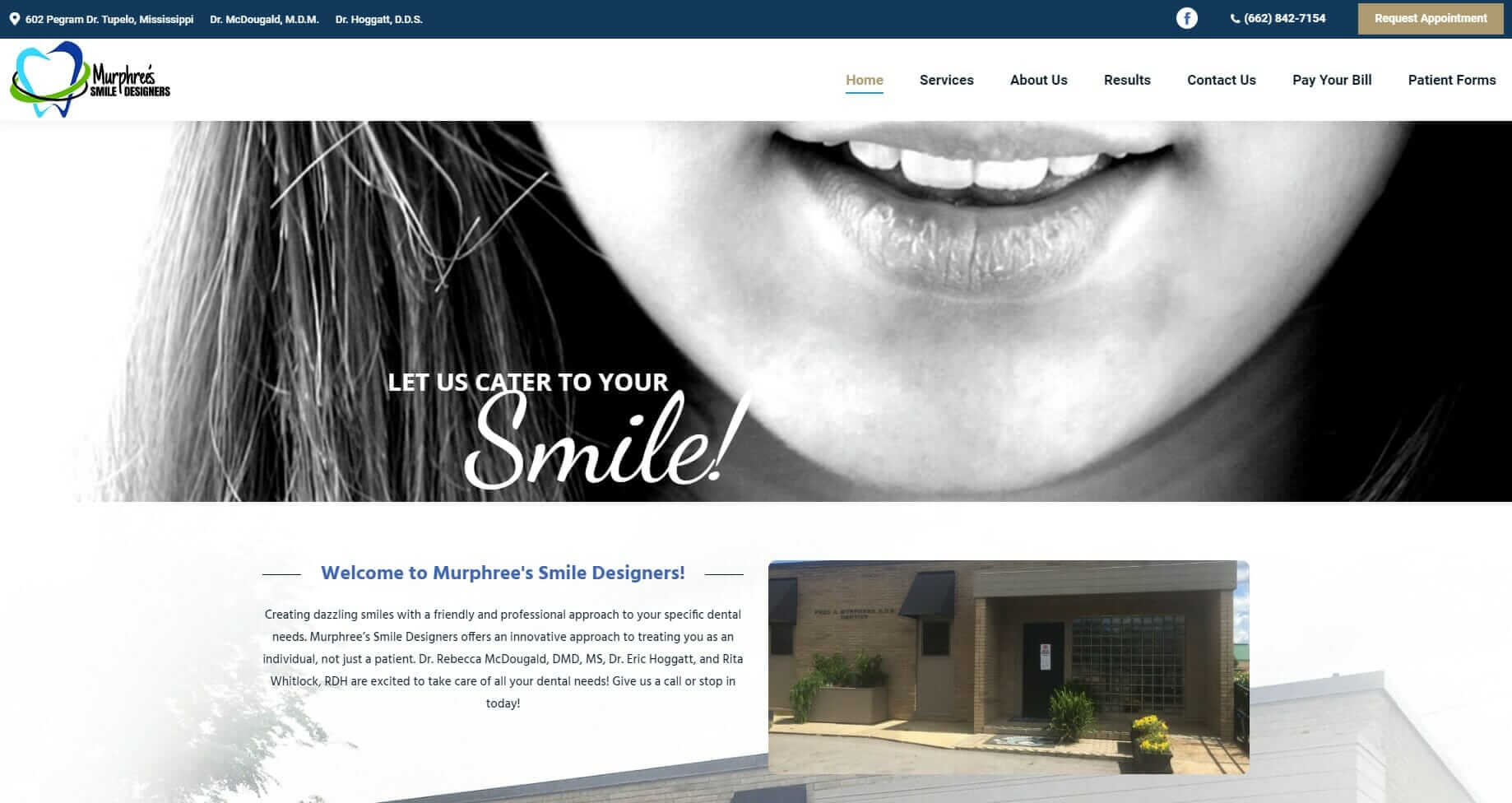 Website and Marketing for Dentists - Murphree's Smile Designers